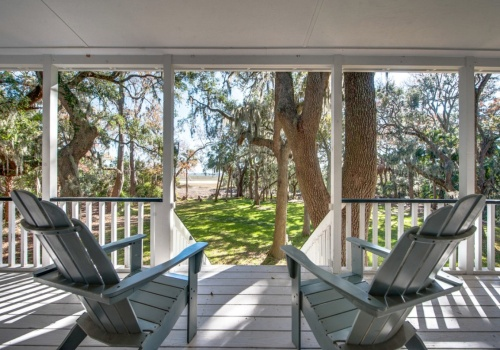 Low Country home on the marsh